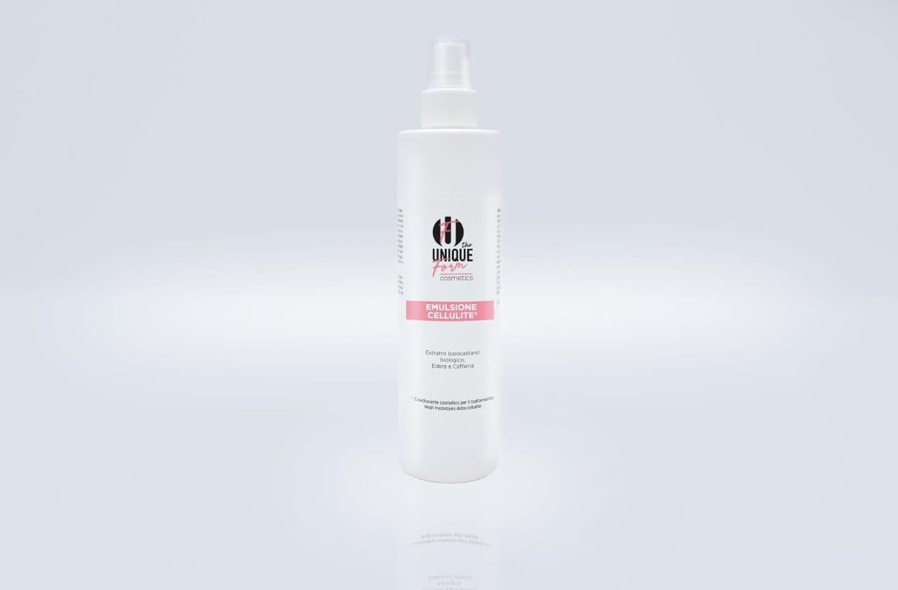 Emulsione Spray Inestetismi della Cellulite - Theuniqueform